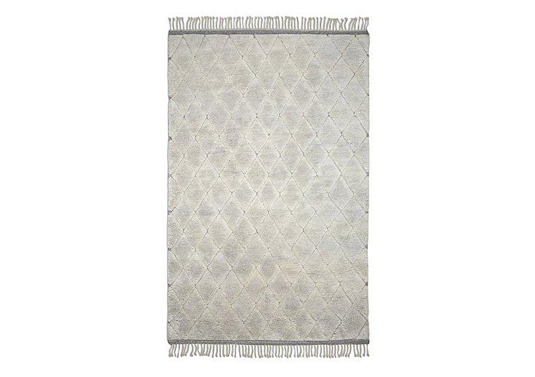 Diamond Rug in Cream on Furniture Village