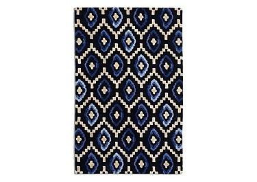 Orion Rug in Blue on Furniture Village