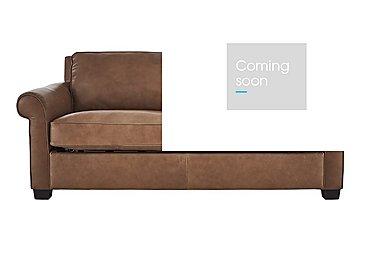 Campania 3 Seater Leather Sofa Bed in Bari 10yn Sambuco on Furniture Village