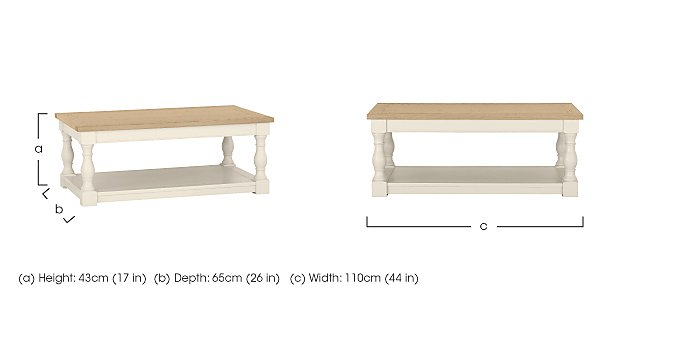Pierre Coffee Table in  on Furniture Village