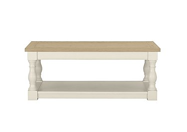 Pierre Coffee Table in Antique White on Furniture Village