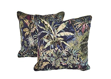 Aruba Pair of Scatter Cushions in Flora Cruise on Furniture Village