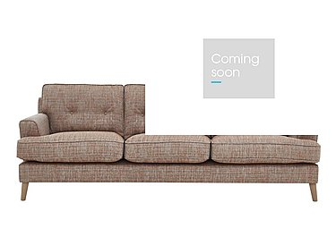 Line 3 Seater Fabric Sofa in Carlo Multi Lt Col 2 Light on Furniture Village