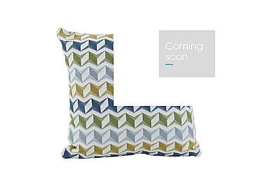 City Loft Scatter Cushion in Star Aqua on Furniture Village