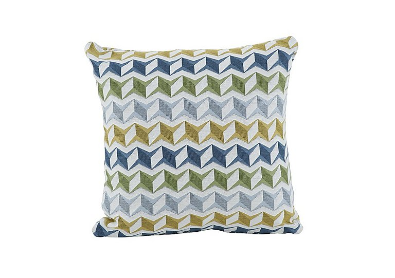 City Loft Scatter Cushion in Star Aqua on Furniture Village