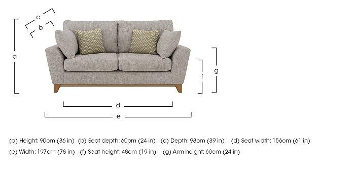 Novara Large Sofa in  on Furniture Village