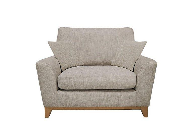 Novara Snuggler Chair in N106 on Furniture Village