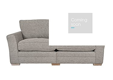 Ashridge 3 Seater Fabric Sofa in Cavolo Plain Stone Lo Ft on Furniture Village