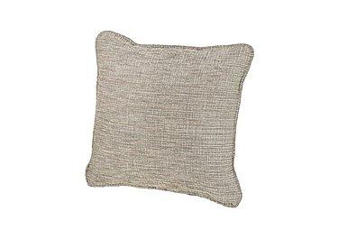 Ashridge Fabric Scatter Cushion in Cavolo Plain Stone on Furniture Village