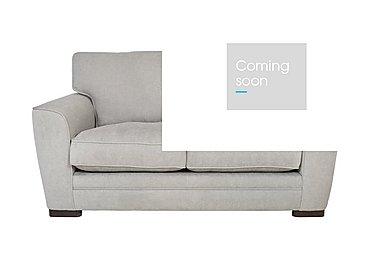 Wilton 2 Seater Fabric Sofa in Fusion Plain Steel Dk Ft on Furniture Village