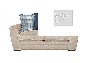 Wilton 2 Seater Fabric Pillow Back Sofa in Pebble Midnight Balm Sky Dk Ft on Furniture Village