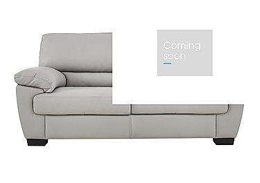 Alvera 2 Seater Leather Sofa in Denver 10bz Sg Medium Grey on Furniture Village