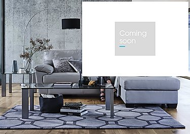 Alvera Leather Corner Sofa in  on Furniture Village