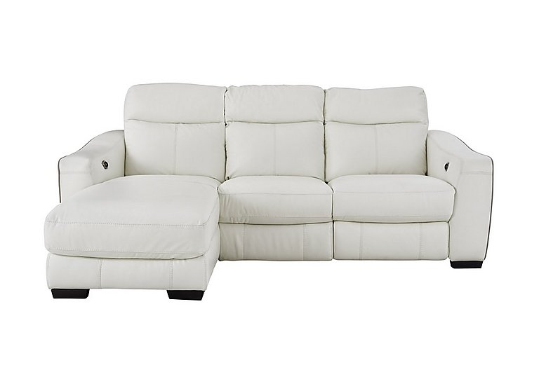Cressida Leather Recliner Corner Chaise Sofa  sc 1 st  Furniture Village : recliner chaise - Sectionals, Sofas & Couches