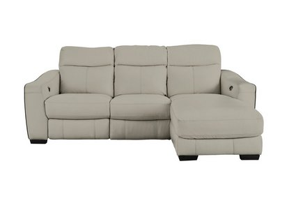 Cressida Leather Corner Chaise Recliner Sofa