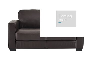 Dante 2.5 Seater Leather Sofa Bed in Jc-157e  Warm Brown on Furniture Village