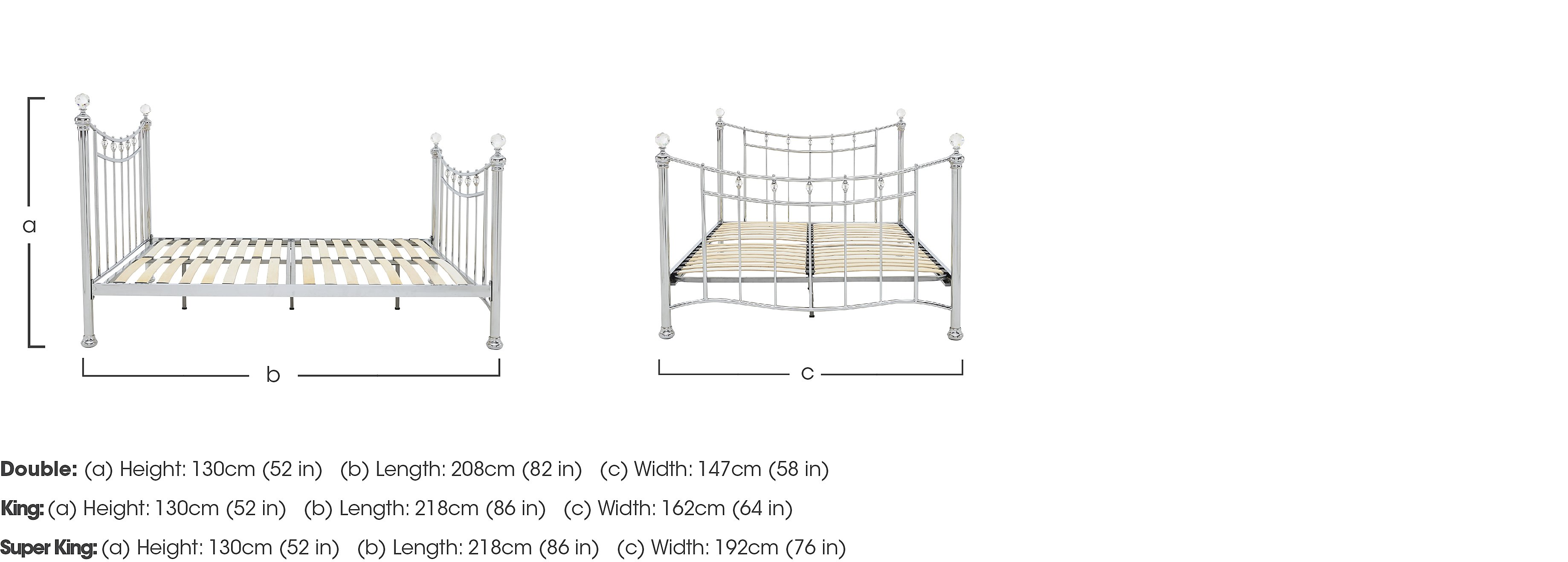 Aviana Bed Frame in  on Furniture Village