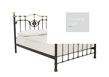 Valentina Metal Bed Frame in  on Furniture Village