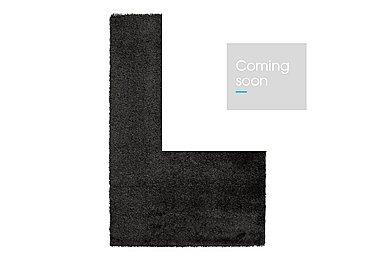 Loft Rug in Black on Furniture Village