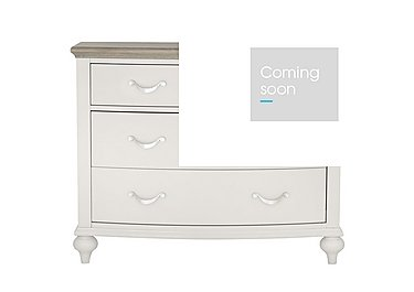 Annecy 2+2 Drawer Chest in Soft Grey And Grey Washed Oak on Furniture Village