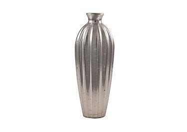 Antique Glass Vase in Silver on Furniture Village