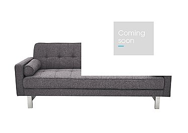 Newman Fabric Sofa Bed in Charcoal Grey on Furniture Village