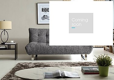 Lux Fabric Sofa Bed in  on Furniture Village
