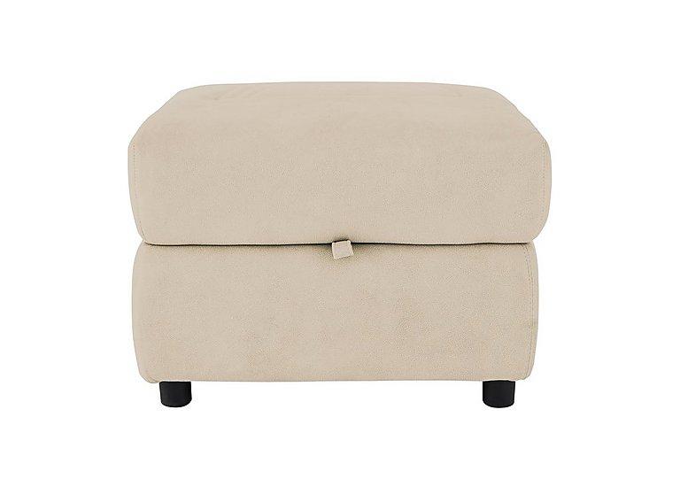 Cupola Storage Footstool in Atl-R050-Pebble on Furniture Village