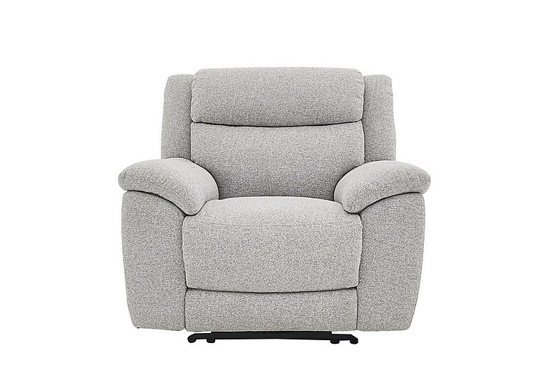 Bounce Fabric Recliner Armchair in Fab-Chl-R21 Chilli Frost on Furniture Village