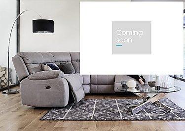 Moreno Fabric Recliner Corner Sofa in  on Furniture Village