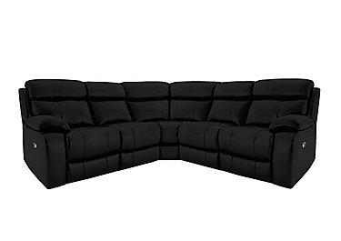 Moreno Leather Recliner Corner Sofa