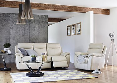 Snug 2 Seater Fabric Recliner Sofa in  on Furniture Village