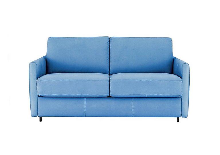 Alcova 2 Seater Fabric Sofa Bed With Slim Arms Nicoletti