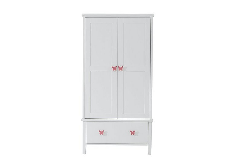 Blossom Double Wardrobe in Pink on Furniture Village