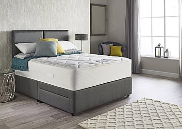 Supreme Latex Comfort 1800 Divan Set in  on Furniture Village