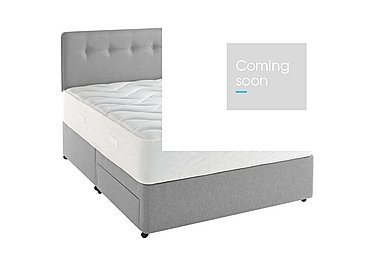 Supreme Memory Comfort 1400 Divan Set in 7241 Mist on Furniture Village
