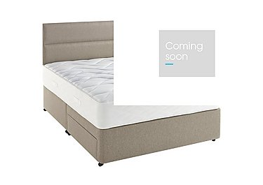 Supreme Comfort 1000 Divan Set in 7240 Taupe on Furniture Village