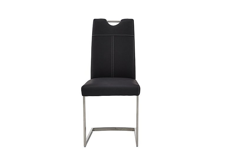 Panama Upholstered Dining Chair in Black on Furniture Village