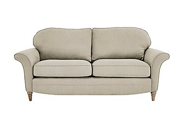 Diversity 3 Seater Fabric Sofa in Cosmo Mink Lo on Furniture Village