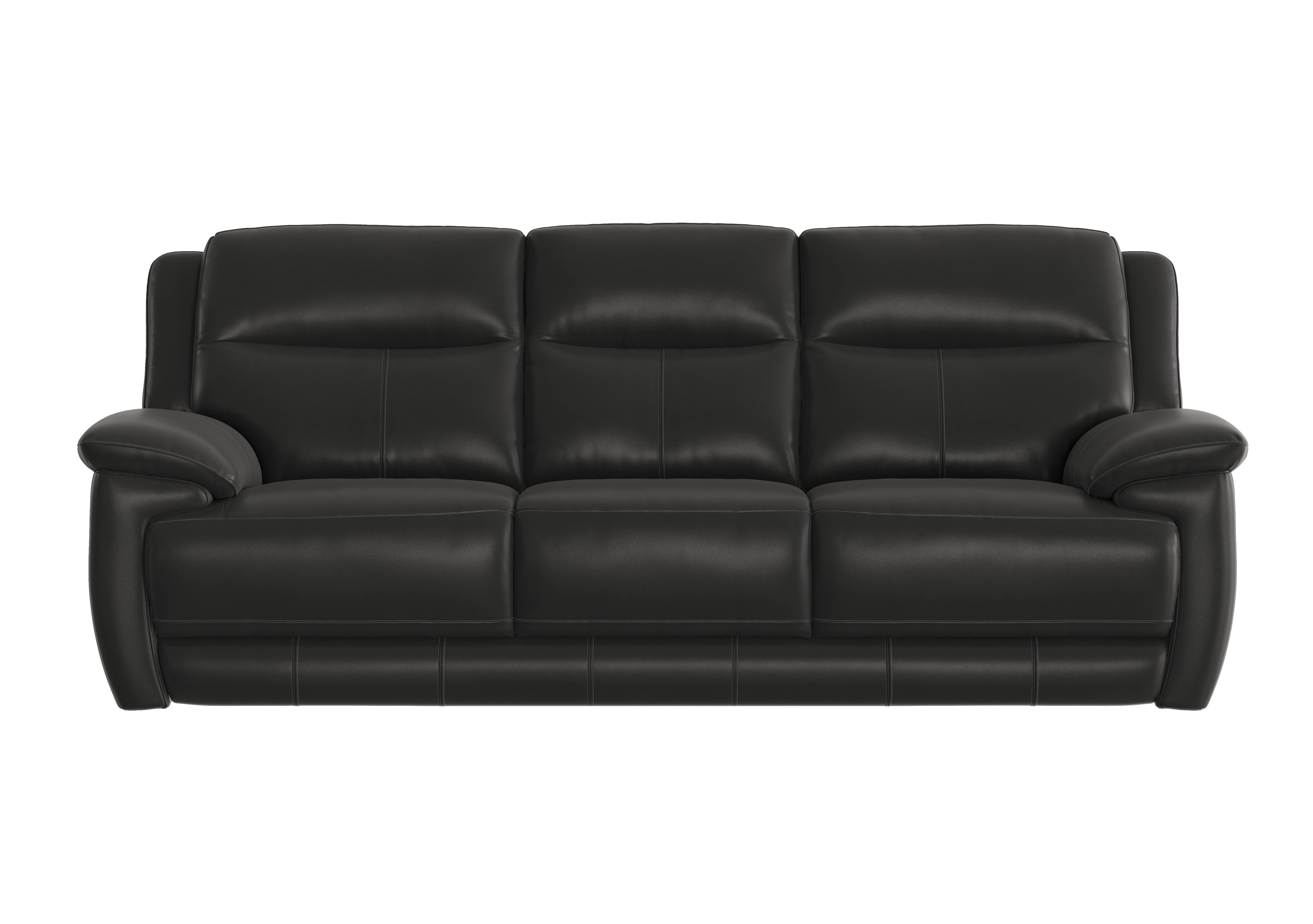 - Touch 3 Seater Leather Sofa - World Of Leather - Furniture Village