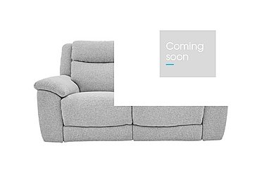 Bounce 2 Seater Fabric Recliner Sofa in Fab-Chl-R21 Chilli Frost on Furniture Village