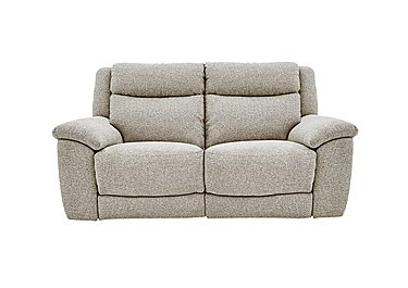 Bounce 2 Seater Fabric Recliner Sofa in Fab-Chl-R25 Chilli Biscuit on Furniture Village
