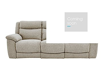 Bounce 3 Seater Fabric Recliner Sofa in Fab-Chl-R25 Chilli Biscuit on Furniture Village