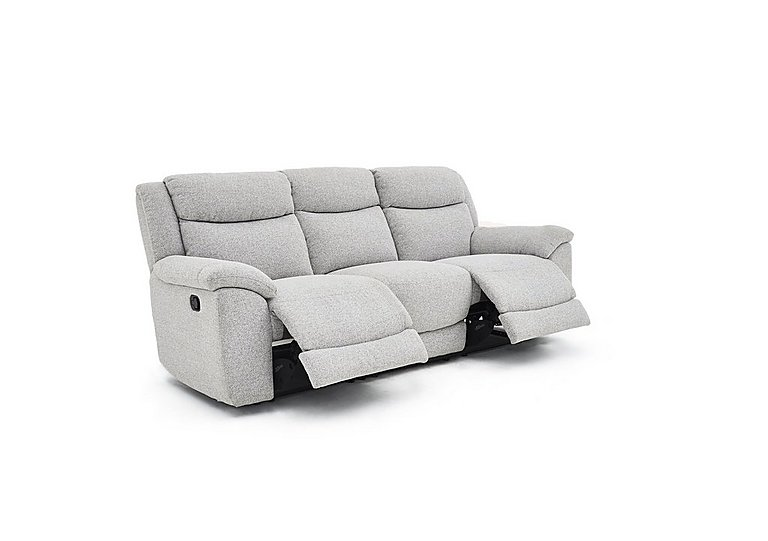 Bounce 3 Seater Fabric Recliner Sofa Furniture Village