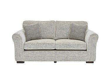 Devlin 2 Seater Fabric Sofa in Buzz Plain Marble Dk on Furniture Village