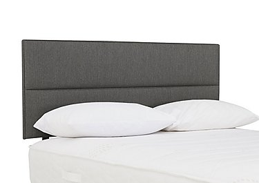 Indulge Contour Headboard in 7239 Granite on Furniture Village