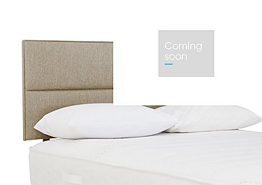Contour Headboard in 7240 Taupe on Furniture Village
