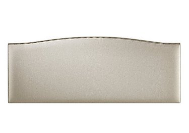 Dishy Headboard in 6633 French Linen on Furniture Village