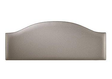 Curvy Headboard in 6634 Caramel Dream on Furniture Village