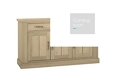 Pierre 3 Door Sideboard in Oak on Furniture Village